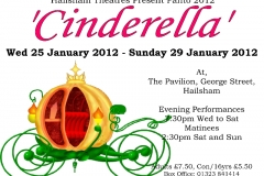 Hailsham Theatres Present Panto 2012